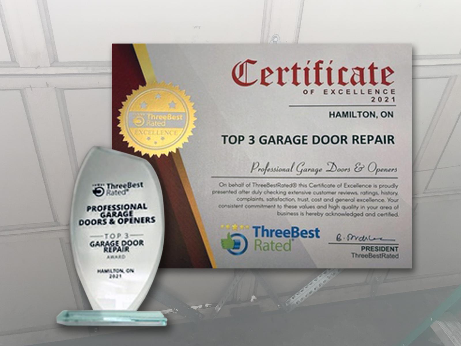 Best Garage Door Repair Hamilton Ontario